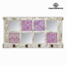 Attaccapanni da muro con specchi by Craften Wood