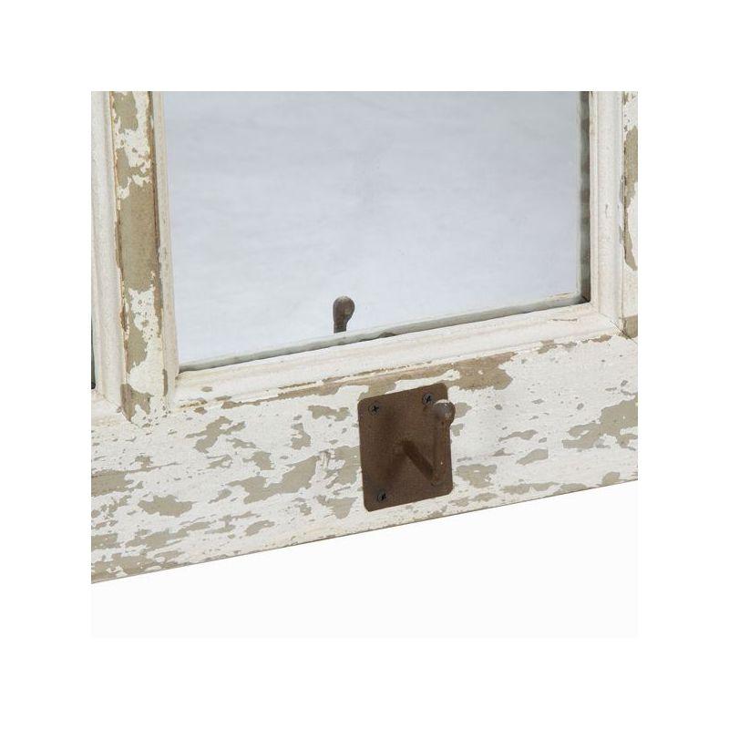 Attaccapanni Da Parete Con Specchio.Attaccapanni Da Muro Con Specchi By Craften Wood