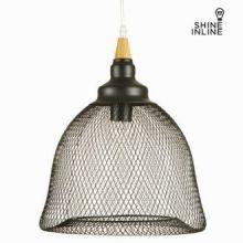 Plafoniera reticolato nera by Shine Inline