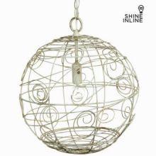 Lampada sfera ferro battuto rustica by Shine Inline