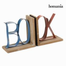 Fermalibri set da due - Art & Metal Collezione by Homania