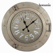 Orologio metallo grigio chiaro - Art & Metal Collezione by Homania