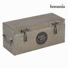 Scatola di metallo argentata - Art & Metal Collezione by Homania