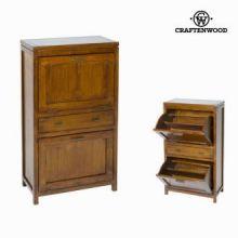 Scarpiera porte a soffietto - Serious Line Collezione by Craften Wood