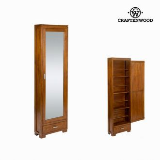 Scarpiera con porta a specchio - Serious Line Collezione by Craften Wood