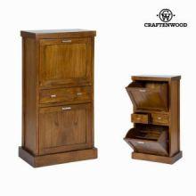 Scarpiera con porte a soffietto - Serious Line Collezione by Craften Wood