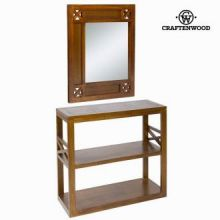 Console ingresso con specchio forest - Chocolate Collezione by Craften Wood