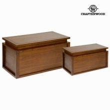 Set 2 bauli in legno - Let's Deco Collezione by Craften Wood
