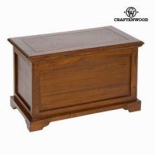 Baule di legno colore marrone - Let's Deco Collezione by Craften Wood