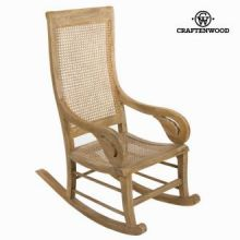 Sedia a dondolo vintage by Craften Wood