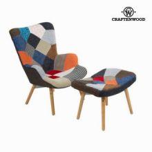 Sedia con poggiapiedi by Craften Wood
