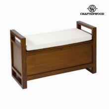 Panca tappezzata con cassetto - Let's Deco Collezione by Craften Wood