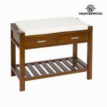 Panchina con cuscino e cassetti - Franklin Collezione by Craften Wood
