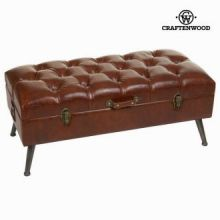 Piedino di letto marrone antic - Relax Retro Collezione by Craften Wood