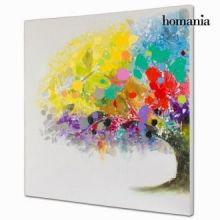 Dipinto a olio albero colori by Homania