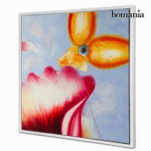 Dipinto a olio fiori by Homania