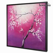 Dipinto a olio albero fucsia by Homania