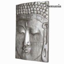 Dipinto budda argento 80x120cm. by Homania