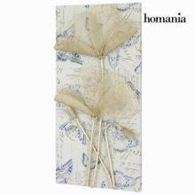 Dipinto fiori di metallo by Homania