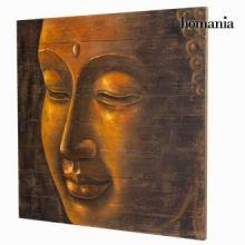 Dipinto su legno budda by Homania