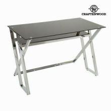 Tavolo scrittoio vetro nero by Craften Wood