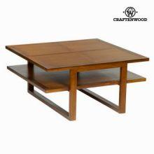 Tavolino quadrato forest - Chocolate Collezione by Craften Wood