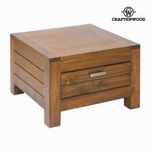 Tavolo ad angolo ohio 1 cassetto - Be Yourself Collezione by Craften Wood