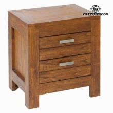 Comodino ohio 2 cassetti - Be Yourself Collezione by Craften Wood