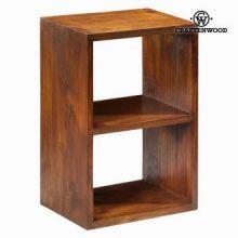 Libreria 2 moduli noce - Serious Line Collezione by Craften Wood
