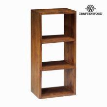 Libreria 3 moduli noce - Serious Line Collezione by Craften Wood