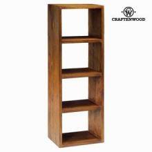 Libreria 4 moduli noce - Serious Line Collezione by Craften Wood