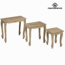 Set tre tavolini - Pure Life Collezione by Craften Wood