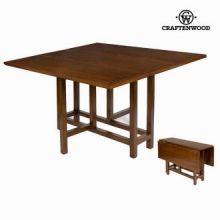 Tavolo pieghevole quadrato - Serious Line Collezione by Craften Wood