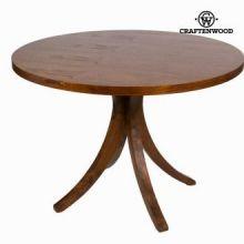 Tavolo circolare claudia scuro - Serious Line Collezione by Craften Wood