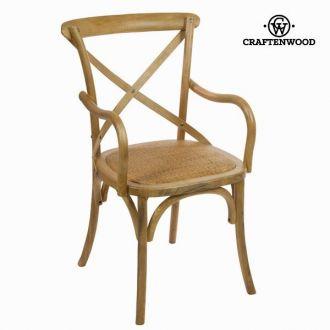 Sedia con braccioli legno chiara by Craften Wood