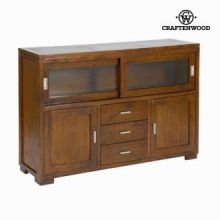 Credenza forest 3 cassetti - Chocolate Collezione by Craften Wood
