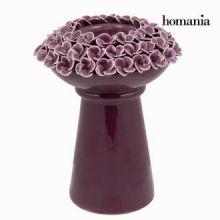 Candelabro con fiori porpora - Enchanted Forest Collezione by Homania