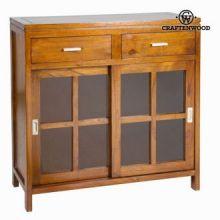 Armadio 1 porta e 2 cassetti - Serious Line Collezione by Craften Wood