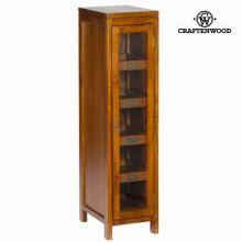 Vetrina con porta 4 ripiani - Serious Line Collezione by Craften Wood