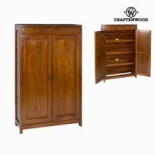 Scarpiera 2 porte e 2 cassetti - Serious Line Collezione by Craften Wood