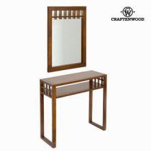 Console ingresso con specchio coloniale - Serious Line Collezione by Craften Wood