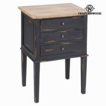 Tavolino 3 cassetti by Craften Wood