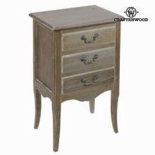 Tavolino con tre cassetti - Vintage Collezione by Craften Wood