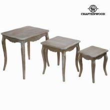Tavolo set da tre - Vintage Collezione by Craften Wood