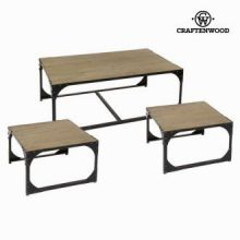 Set 3 tavoli toronto - Thunder Collezione by Craften Wood