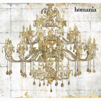 Dipinto lampada dorata by Homania