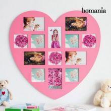 Portafoto Pink Heart Homania (13 foto)
