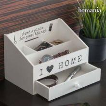 Scatola per Organizzare I Love Home by Homania