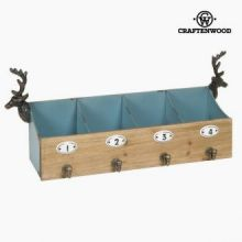 Supporto 4 appendini cervo by Craftenwood