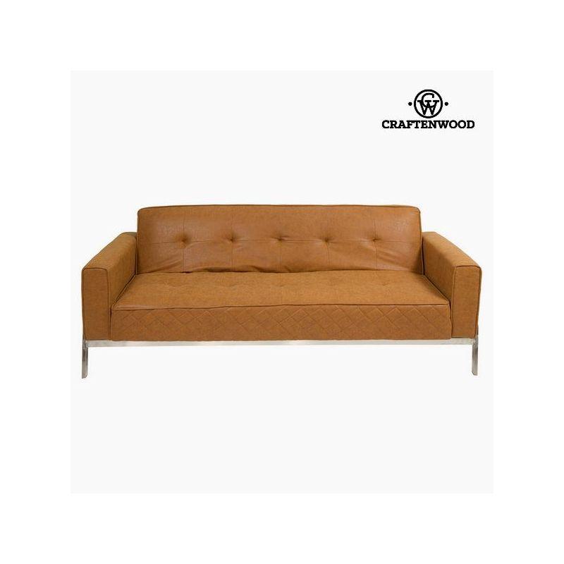 Divano letto di pelle vintage vintage collezione by craftenwood - Divano letto retro ...